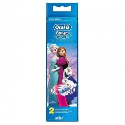 Rezerva periuta electrica Oral B D12 Frozen 3+ ani 2buc