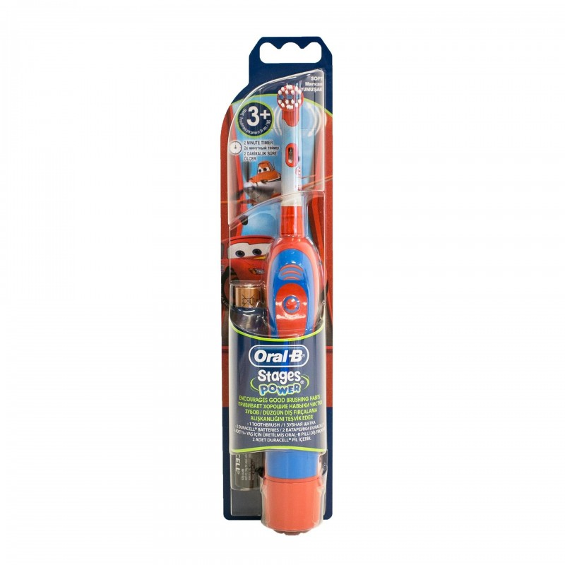 Periuta electrica ORAL-B DB4.510.K Disney Cars