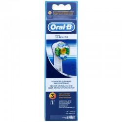 Rezerva periuta electrica 3 capete Oral B EB18 3D White