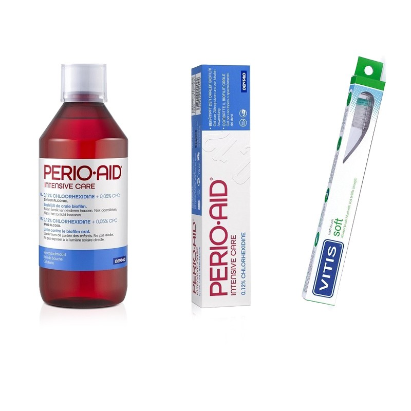 Pachet promo Perio-Aid Dentaid