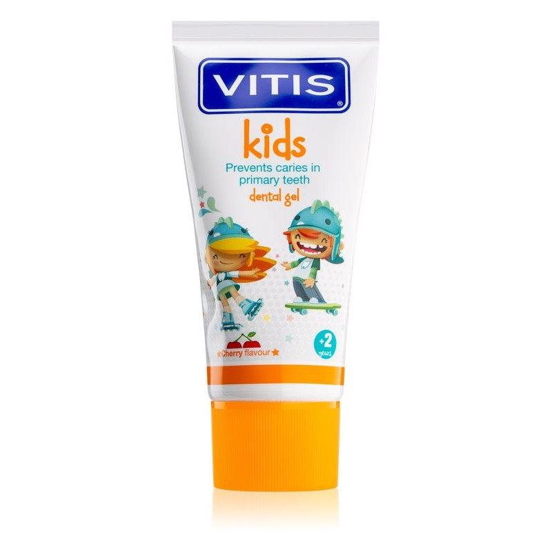 Pasta de dinti VITIS KIDS Gel 3+ - 50ml imagine produs 2021 oralix.ro