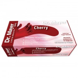 MANUSI DR.MAYER NITRIL CHERRY(RED) 100 XS
