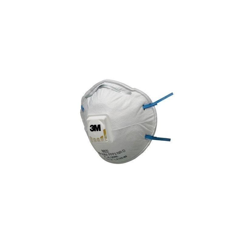 Masca FFP2 cu valva forma cupa set 10 bucati 3M oralix poza