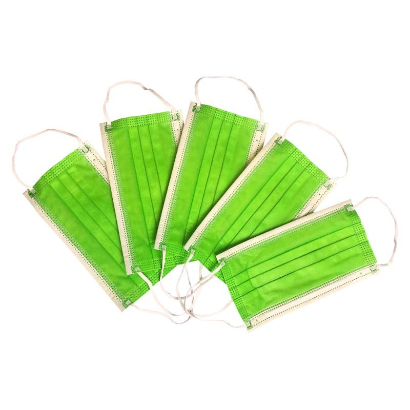 Masca medicala 4 straturi Green Dr. Mayer oralix poza