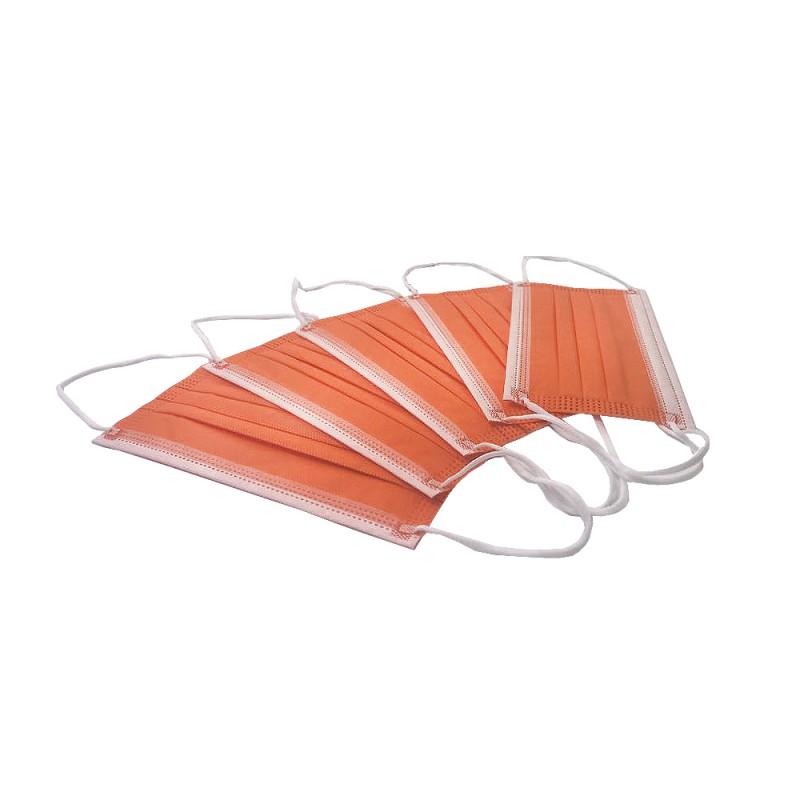 Masca medicala 4 straturi Orange Dr. Mayer oralix poza