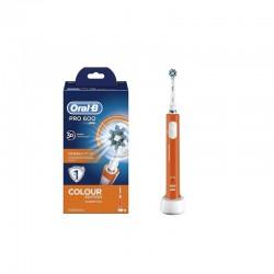 Periuta electrica ORAL-B PRO 600 CrossAction Orange