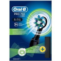 Periuta electrica ORAL-B PRO 750 Cross Action Black