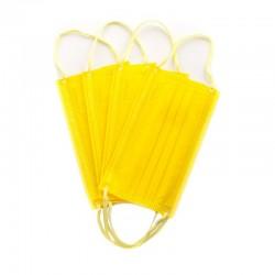 Masca medicala 4 straturi full color Yellow Dr. Mayer