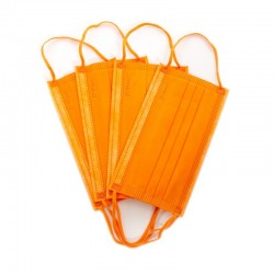Masca medicala 4 straturi full color Orange Dr. Mayer