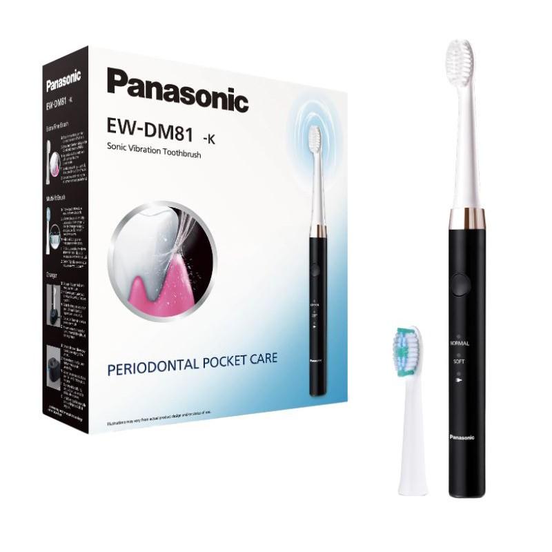 Periuta electrica Panasonic Sonic Vibration EW-DM81-K, Negru