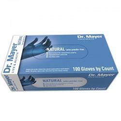 Manusi examinare latex nepudrate blue marimea L Dr Mayer  100 bucati