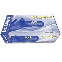 Manusi nitril albastre marimea L Dr. Mayer 100 bucati
