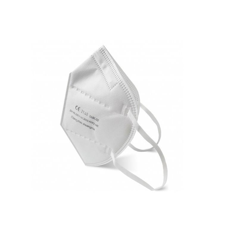 Masca protectie FFP2 fara supapa 25 bucati Serix imagine produs 2021 oralix.ro