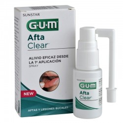 Spray Afta Clear 15ml Gum Sunstar