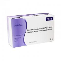 Test rapid COVID antigen saliva Set 5 bucati Realy Tech