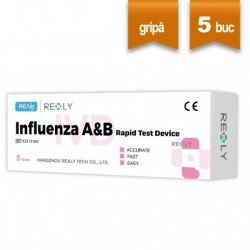 Test rapid gripa A&B Realy Tech Set 5 bucati