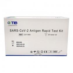 Test rapid antigen nazofaringian COVID-19 set 25 bucati Triplex