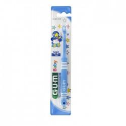 Periuta de dinti GUM Kids GUM Baby 0-2 Ani Ultra Soft Blue