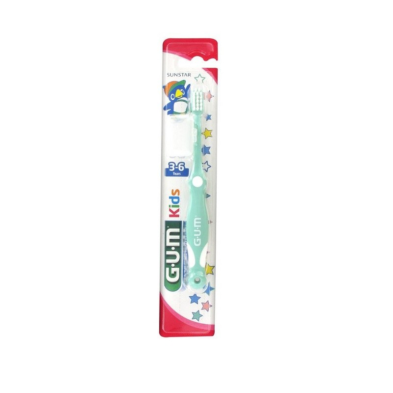 Periuta De Dinti Gum Kids 3-6 Ani Ultra Soft Green