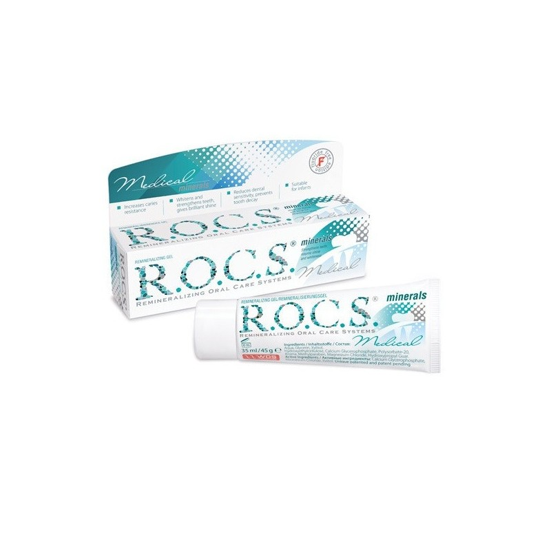 Pasta De Dinti Gel Remineralizant R.o.c.s. Medical Minerals