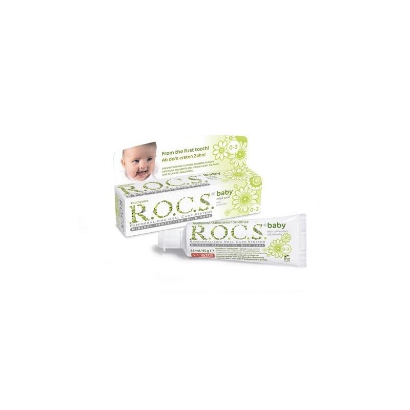 Pasta De Dinti R.o.c.s. Baby Mild Care With Camomile Fara Fluor