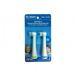 Capete periuta electrica pentru copii blue Dr.Mayer