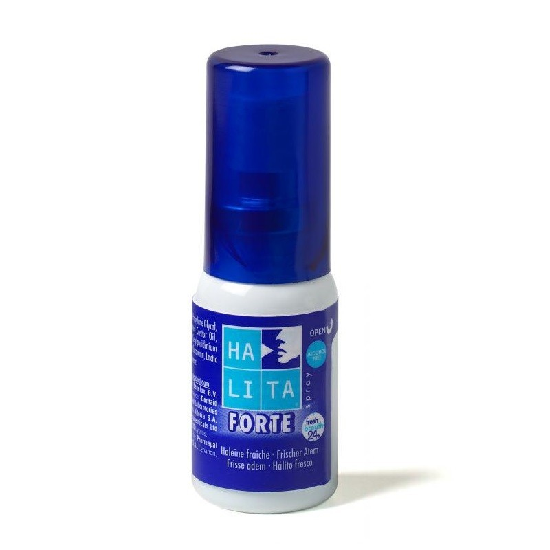 Spray oral Halita Forte 15ml Dentaid imagine produs 2021 oralix.ro