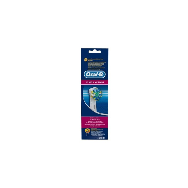 Imagine indisponibila pentru Rezerva 2 capete periuta electrica Oral B EB25 Floss Action