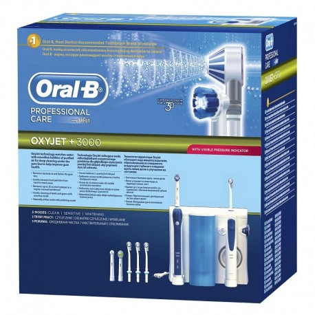 Dus bucal Oral B 20-535  Professional Care OxyJet 3000