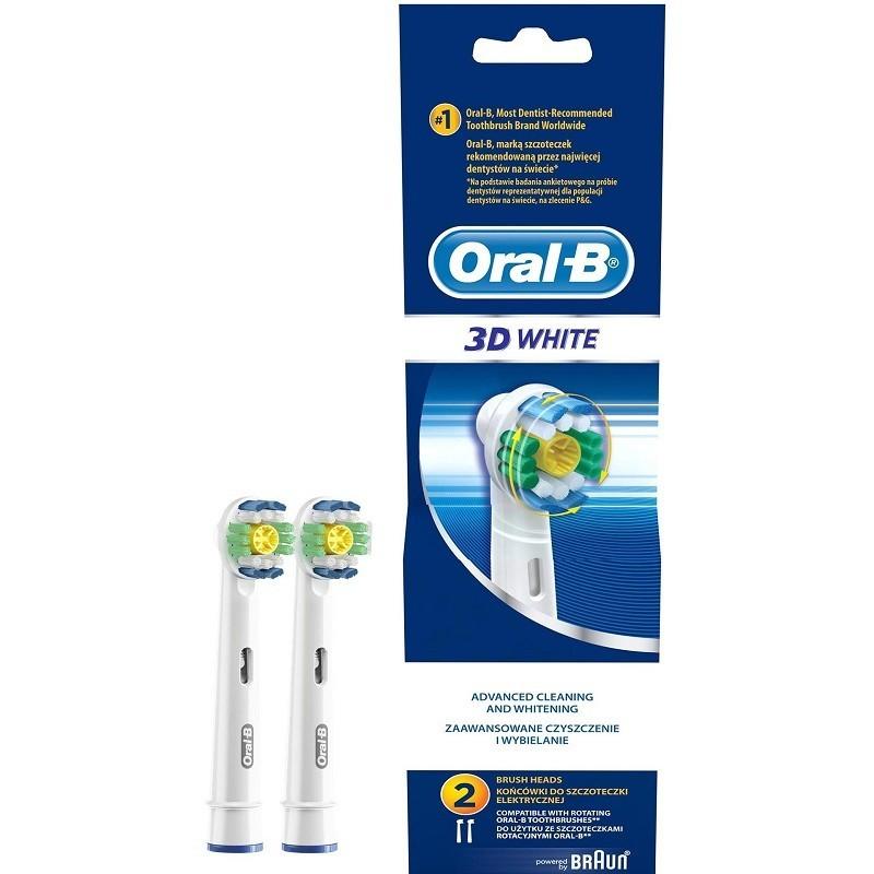 Rezerva periuta electrica 2 capete Oral B EB18 3D White