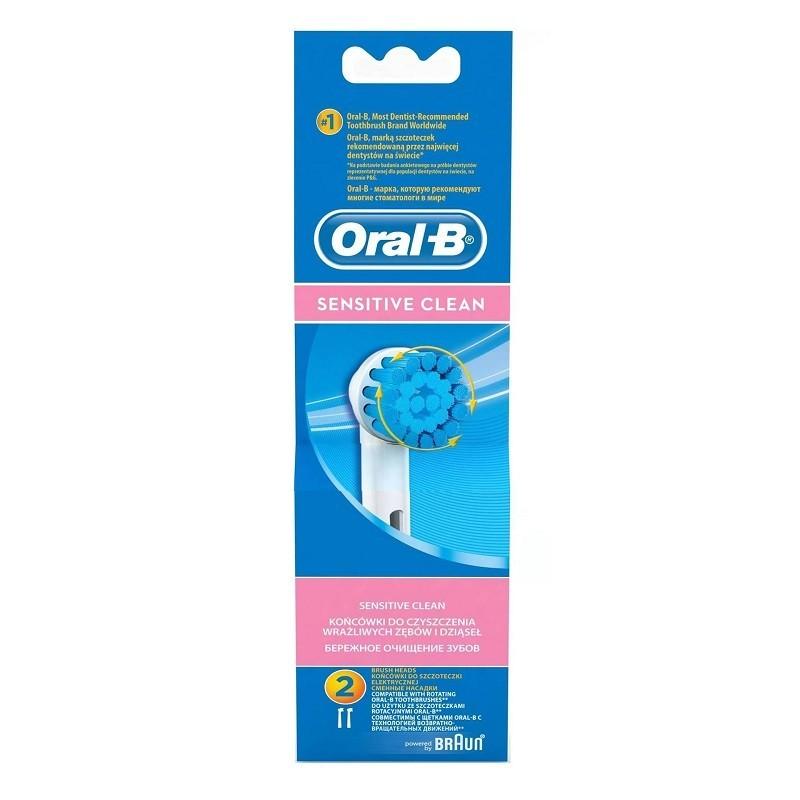 Rezerva 2 capete periuta electrica Oral-B EBS17 Sensitive Clean