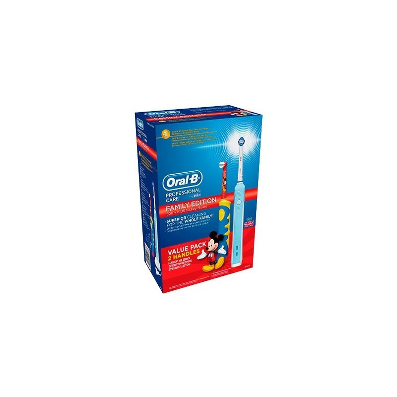 Periuta electrica Oral-B D16.513.U Professional Care 500+Periuta electrica Oral-B D10.51 Kids Mickey Mouse
