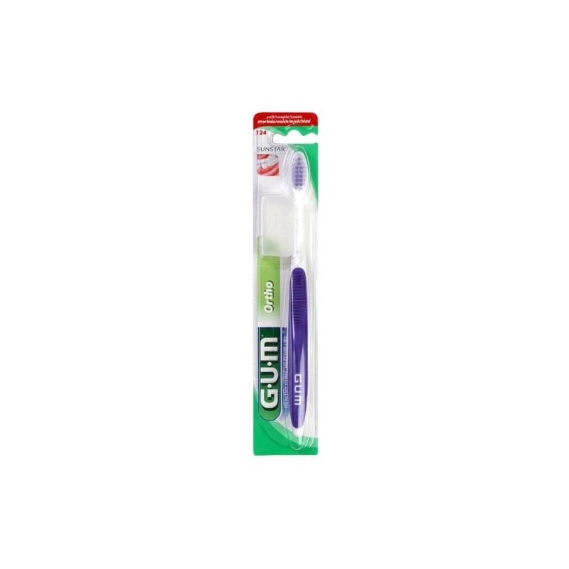 Periuta De Dinti Gum Ortho Toothbrush 4-row Purple