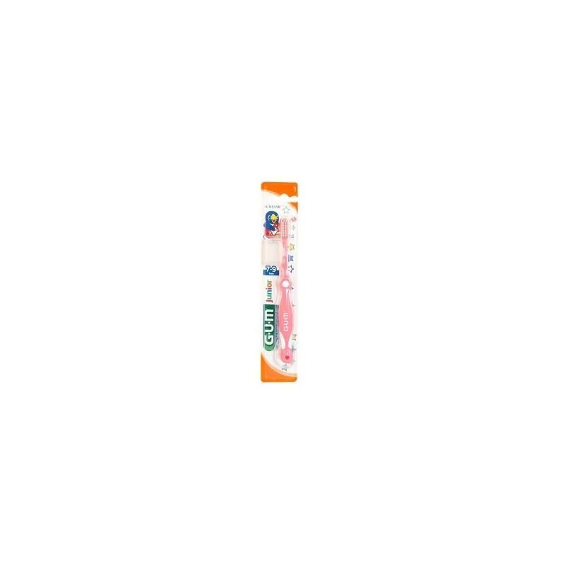 Periuta de dinti GUM Junior 7-9 Ani Ultra Soft Pink