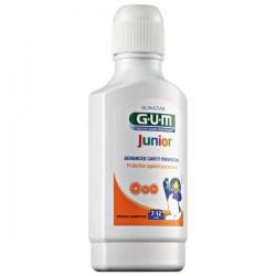 Apa de gura GUM Junior Rinse, 7-12 Ani, 300Ml