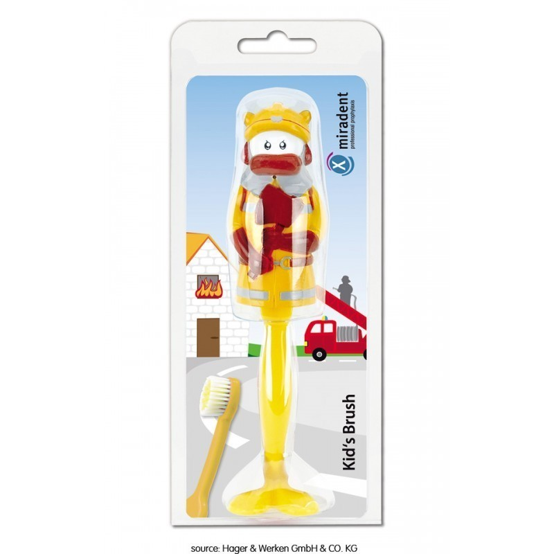 Periute De Dinti Cu Figurina Taur Pentru Copii 1an+ Miradent