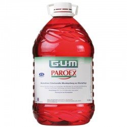 Apa de gura GUM Paroex 0,12% Chlorhexidine 5L