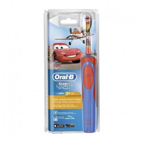 PERIUTA ELECTRICA ORAL-B CARS/PLANES D12.513.K