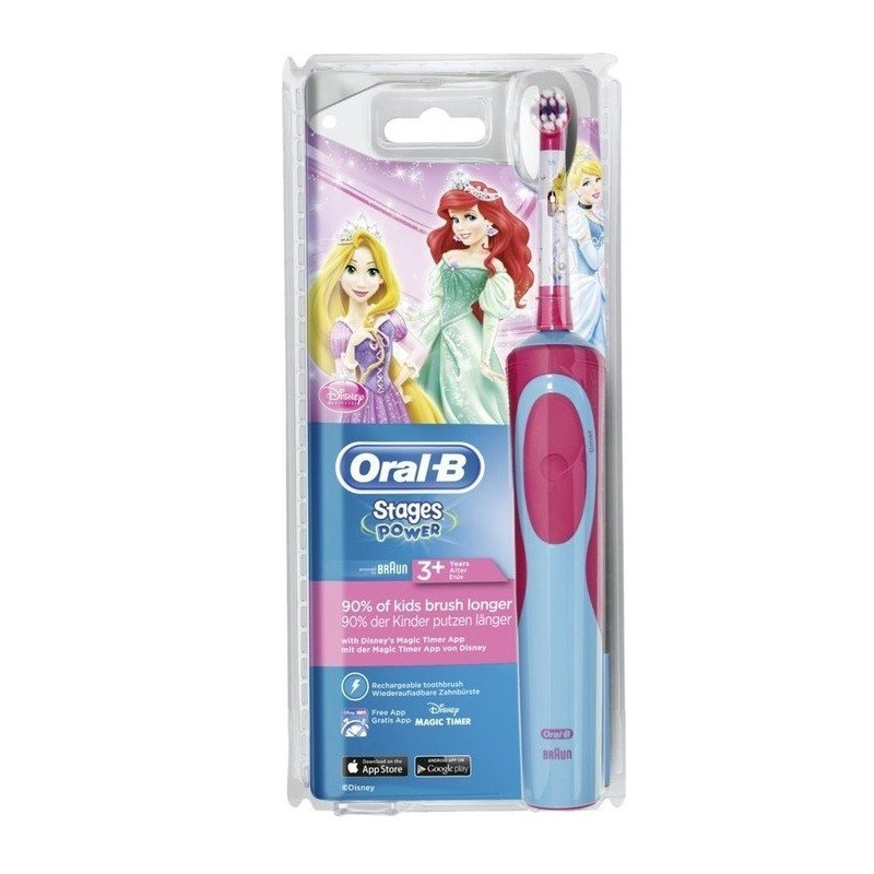 Periuta electrica Oral-B D12.513.K Princess pentru copii