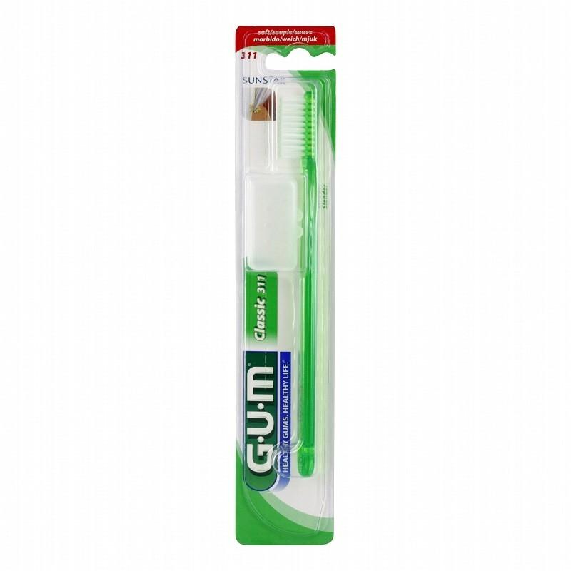 Periuta De Dinti Gum Classic Soft 3-row Slender Head Soft