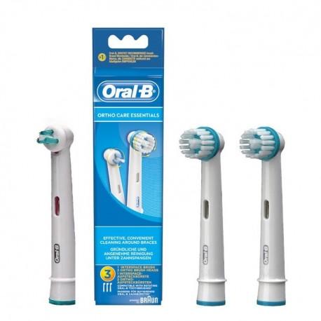 Capete periuta electrica Oral-B Ortho Care 2+1